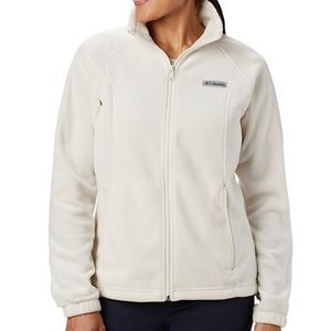 "NWT Columbia ""Benton Springs"" Full Zip Fleece"